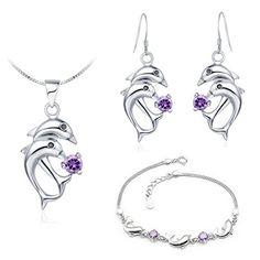 Virgin Shine Platinum Plated Rhinestones Dolphin Jewelry Sets Purple VIRGIN SHINE http://www.amazon.com/dp/B00L0IH752/ref=cm_sw_r_pi_dp_VTZEub15YBMEH