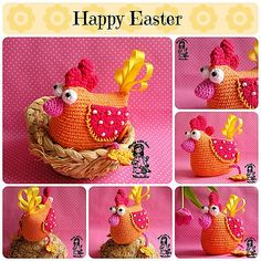 Ravelry: Easter hen pattern by Vendula Maderska