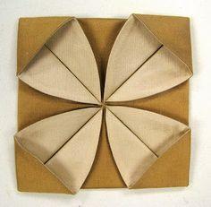 """Повседневной художник: ткань оригами шаг за шагом - """"Первоцвет"""""""
