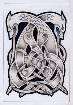 Knotty-inks Custom Celtic Tattoo Design