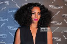 Solange Knowles attends the Eleven Paris Presentation and Cocktail as part of Paris Fashion Week Womenswear Fall/Winter 2015/2016 on March 5, 2015 in Paris, France.  (Photo by Kristy Sparow/Getty Images)