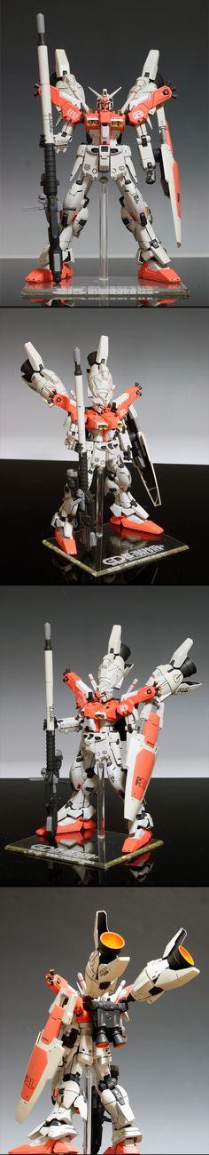 Core Work 1/100 RX-78 Gundam GP01/FP Plus Test Type: Full Photoreview Wallpaper Size Images. Work by SENDO | GUNJAP