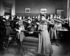 Teaching:  Old Classrooms in the US