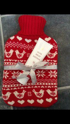 Heat lotion gift set idea