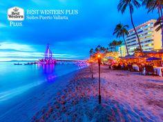 EL MEJOR HOTEL DE PUERTO VALLARTA. Todo aquel que visita Puerto Vallarta, queda fascinado por el encanto de sus playas y los sublimes atardeceres que se aprecian desde el malecón. En Best Western Plus Suites Puerto Vallarta, le invitamos a reservar con nosotros en su próxima visita para que disfrute los hermosos atractivos de la zona. ¡Le esperamos! #PuertoVallarta