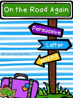 this product was created to help us introduce persuasive letter writing to our students first