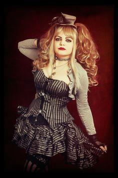 https://flic.kr/p/Kr9nDC   Magic Dance   Photo by Sherring Mode/MUA/Stylist Azadeh #azadeh #azadehbrown #goth #gothmodel #alternative #alternativemodel #gothfashion #gothic #darkphotography #burlesque #elegant #model #modelling #vogue #persianmodel #persian #beauty #makeup #darkbeauty #vintage #eyes #fashion #femmefatale #doll #pin up #Theatrical #steampunk #steamgoth #clockpunk #clockwork #military #mechanical #victoriana #circus #sideshow #freakshow #cosplay #mcm #lolita #egl #kawaii…
