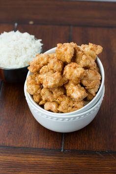 Asian Crispy Honey Chicken - Oh Sweet Basil