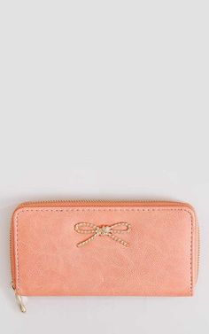#FashionVault #styles for less #Women #Accessories - Check this : Rope Twist Bow Wallet - N/S - Pink by Styles For Less for $8.99 USD