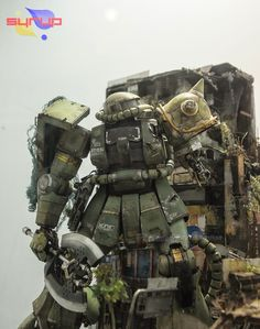 PG Zaku II Last Survival Diorama Build GBWC 2014 Korea Entry - Gundam Kits Collection News and Reviews