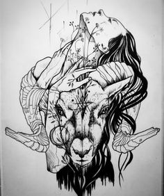 Pin by chelsea reimer on drawings tattoo sketches, body art tattoos, ink ar Kunst Tattoos, Body Art Tattoos, Sleeve Tattoos, Dark Art Tattoo, Tatoos, Arte Horror, Horror Art, Tattoo Sketches, Tattoo Drawings