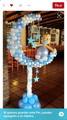 Baby Shower Balloons - An Easy & Cost Effective Way To Create A Fabulous Baby Shower - Balloon Decorations 🎈 Its A Boy Balloons, Baby Shower Balloons, Baby Shower Games, Baby Shower Parties, Ballon Arrangement, Baby Ballon, Deco Ballon, Deco Originale, Balloon Arch