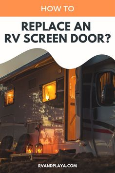 Whether you're remodeling your RV or you're packing for an adventurous trip, it's helpful to know how wide your RV's door is. some general information about RVs and their doors. Keep reading to learn more about your RV's doors. #rvlifestyle #fulltimerv #rvliving #rvtips
