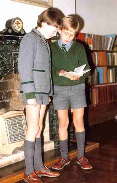 British School Boy Uniforms - the sort of shorts we wore in the - and if we misbehaved at junior school we would get our bare legs smacked (love the electric fire) British School Uniform, School Uniform Fashion, Grey School Shorts, Boy Shorts, Boys Uniforms, School Uniforms, Military Uniforms, British Schools, British Boys