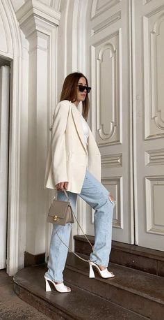 Classy Outfits, Chic Outfits, Trendy Outfits, Fashion Outfits, Spring Summer Fashion, Spring Outfits, Outfit Stile, Elegantes Outfit, Looks Style
