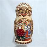 Happy Children Matryoshka Nesting Doll from Sergiev Posad Russia