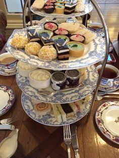 Echt super lekker hightea bij the Fairmont Empress