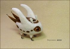 The W's: Felted critters