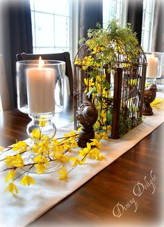 Dining Delight: Spring in the Dining Room