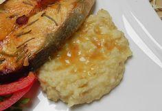 Bramborovo-jáhelná kaše Baked Potato, Mashed Potatoes, Side Dishes, Keto, Baking, Ethnic Recipes, Food, Fitness, Whipped Potatoes