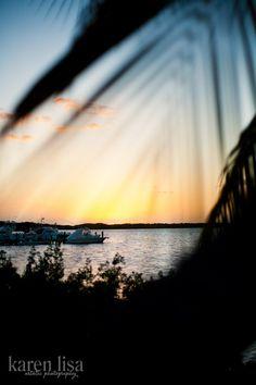 beautiful sunset in islamorada, florida