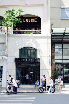 L'usine, One of Ho Chi Minh City Best Cafe's