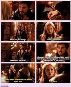 This part upset me so much! Why, Emma, why? Hook was being nothing but honest with her! :/