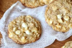 White Chocolate Coconut Cream Cheese Cookies