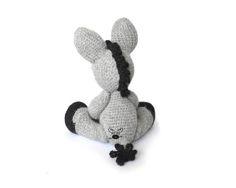 Donkey Amigurumi Crochet Pattern PDF Instant Download  Dylan
