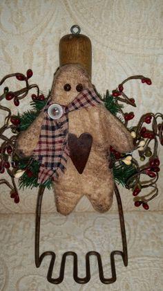 GingerbreadVintage Potato MasherGinger by CholulasAttic on Etsy