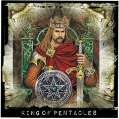 """""""King Of Pentacles"""" by darkblueme4ever on Polyvore"""