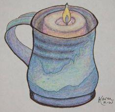 Mug Art Print featuring the drawing Mother's Mug by Karen Nice-Webb Face Health, Mug Art, Thing 1, Galleries, Fine Art America, Nature Photography, Studios, Original Art, Art Prints