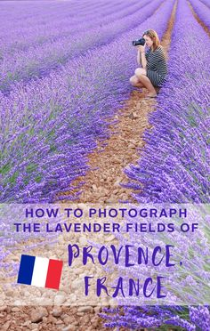How to Photograph the Lavender Fields of Provence, France - www.thewanderinglens.com