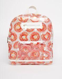 Skinnydip Clear Donut Backpack