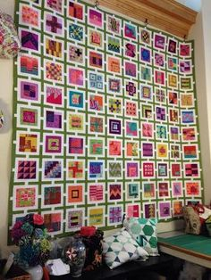 Here's another chance to make the 100 blocks from Tula Pink's book City Sampler 100 Modern Quilt Blocks.