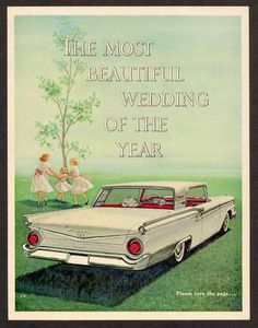 Ford car poster (1959)