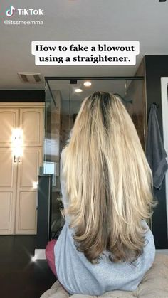 Curls For Long Hair, Easy Hairstyles For Long Hair, School Hairstyles, Straight Hairstyles, Braided Hairstyles, Wedding Hairstyles, Hair Up Styles, Medium Hair Styles, Easy Hairstyle Video