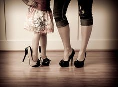 Cute mother daughter Picture idea