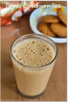 Ginger Cardamom Tea Recipe  Delicious, even with just ground spices and stevia <3