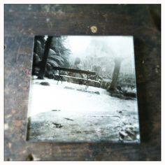 Photos under glass