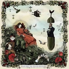 Enter the wonderfully peculiar world of Hendrick's Gin to discover a brief lexibonhommonourous history of nonsense. Gin Quotes, Art Cabinet, Blog Images, Hendrick's Gin, 30th Birthday, Graphic Art, Folk, Victorian, History