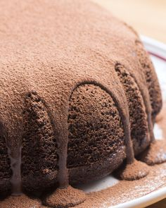 Giant Molten Chocolate Cake