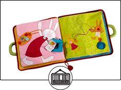 Lilliputiens 86604 - Buen día poco conejito de la tela de libros, juguetes blandos, 28 x 27 x 2 cm, multicolor  ✿ Regalos para recién nacidos - Bebes ✿ ▬► Ver oferta: http://comprar.io/goto/B00IWCRR7W