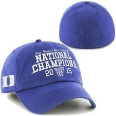 timeless design 2ada2 a0c4b Duke Blue Devils 2015 NCAA Men s Basketball National Champions Franchise  Fitted Hat Duke Blue Devils,