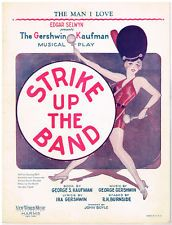 Gershwin: Strike Up The Band: The Man I Love. First Edition. 1924
