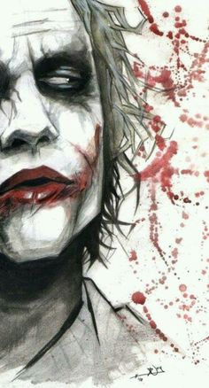 Joker. ^^ the way i sometimes feel like :O like oh you just said something behind my back `?
