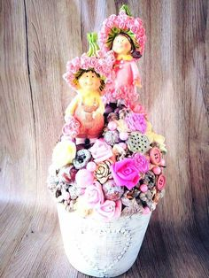 Sharon Stone, Shabby, Happy Birthday, Jar, Spring, Flowers, Projects, How To Make, Table Arrangements