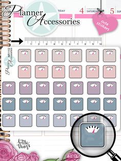 Sticker - Kawaii Waage Sticker NR1112 - ein Designerstück von PlannerAccessories…