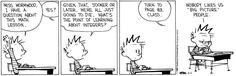 Calvin w/ Hobbs discussing Integers