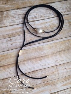Collar choker corazon puro.Black choker. by CaroAccessories